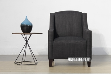 Picture of HETTON Lounge Chair *Black