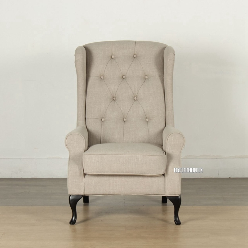 Picture of BELFORD Wing Chair /Lounge Chair *Beige