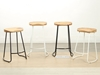 Picture of LUBAN Bar Stool with Elm Seat