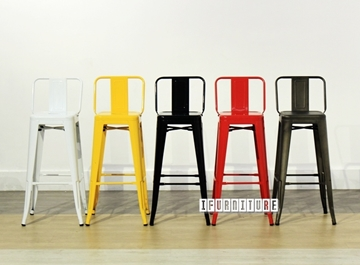 Picture of TOLIX Replica Bar Stool Seat H76 with Back