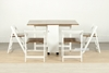 Picture of FOURFOLD Space Saver 5PC Dining Set