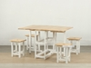 Picture of BILSTON Space Saver 5PC Dining Set