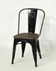 Picture of TOLIX Replica Dining Chair with Rustic Elm Seat