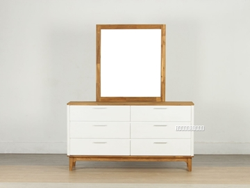 Picture of ZAYNE Acacia Dressing Table And Mirror