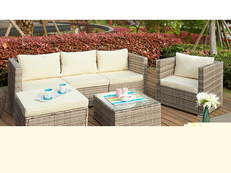Picture of WHATIPU Rattan Outdoor Sofa Set