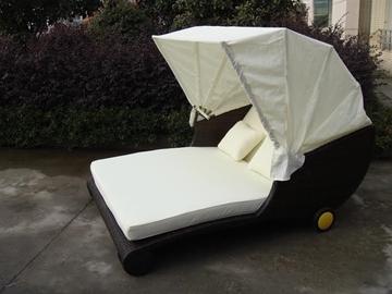 Picture of TAKAPUNA Rattan Outdoor/Patio bed