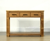 Picture of VINCENT 3Drawer Hall Table/console table *Solid NZ Pine