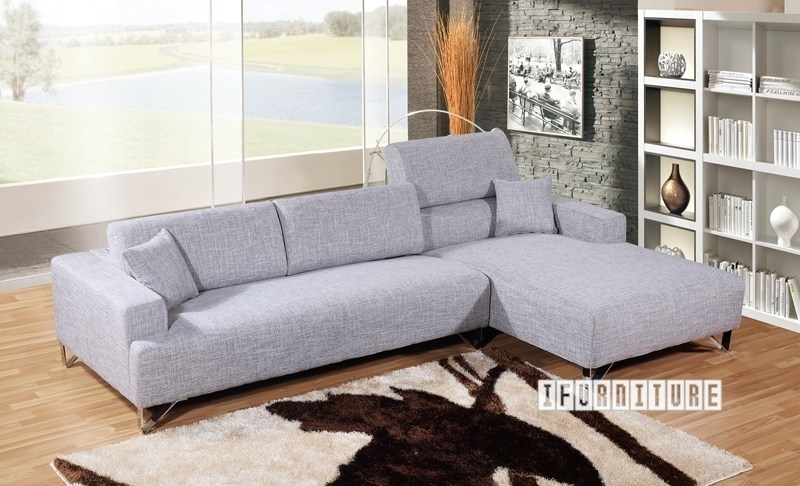 Picture of SMARTVILLE SECTIONAL Sofa in Light Grey