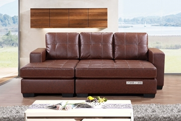 Picture of JESSIE Sectional Sofa with Ottoman *Reversible & Sofa Bed