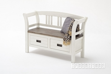 Picture of GOMERA Bench with Arm and Drawers