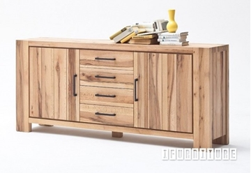 Picture of CARDIFF Sideboard*Solid European Oak & Made in Europe