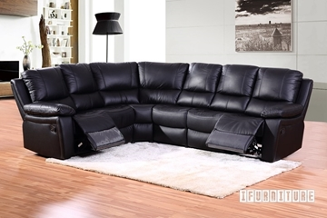 Picture of SAN DIEGO Corner Reclining Sofa *Genuine Leather