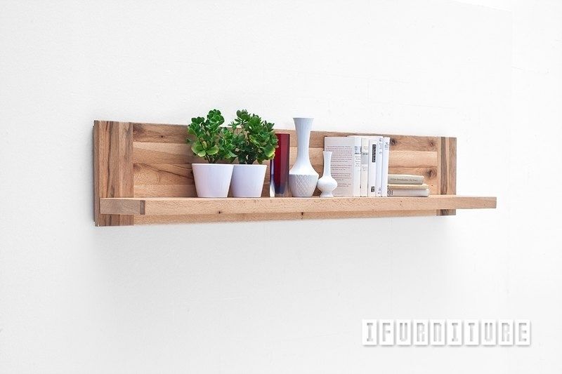 Picture of CARDIFF Wall Shelf /Wall Board*Solid European Oak & Made in Europe
