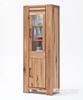 Picture of CARDIFF Tall & Narrow Display Cabinet *Solid European Oak & Made in Europe