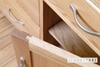 Picture of NEWLAND Solid Oak 3 Drawer Bedside Table