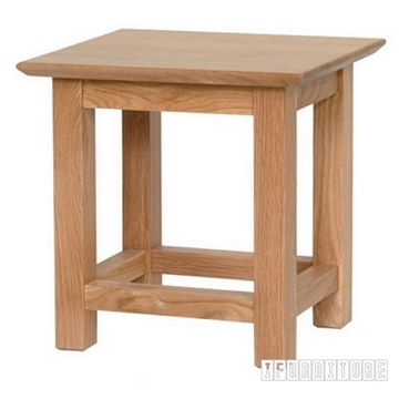Picture of NEWLAND Solid Oak Lamp Table / End Table