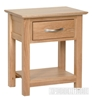 Picture of NEWLAND Solid Oak Lamp Table/ Bedside Table/Night Stand