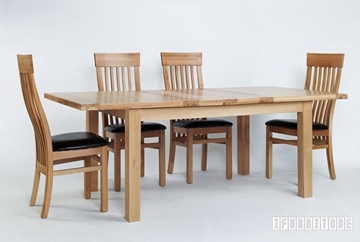 Picture of NEWLAND Solid Oak Extention Dining Table