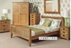 Picture of RIVERLAND Solid OAK 2 Door 2 Drawer Sideboard