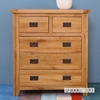 Picture of RIVERLAND Solid OAK 2 Over 3 Chest