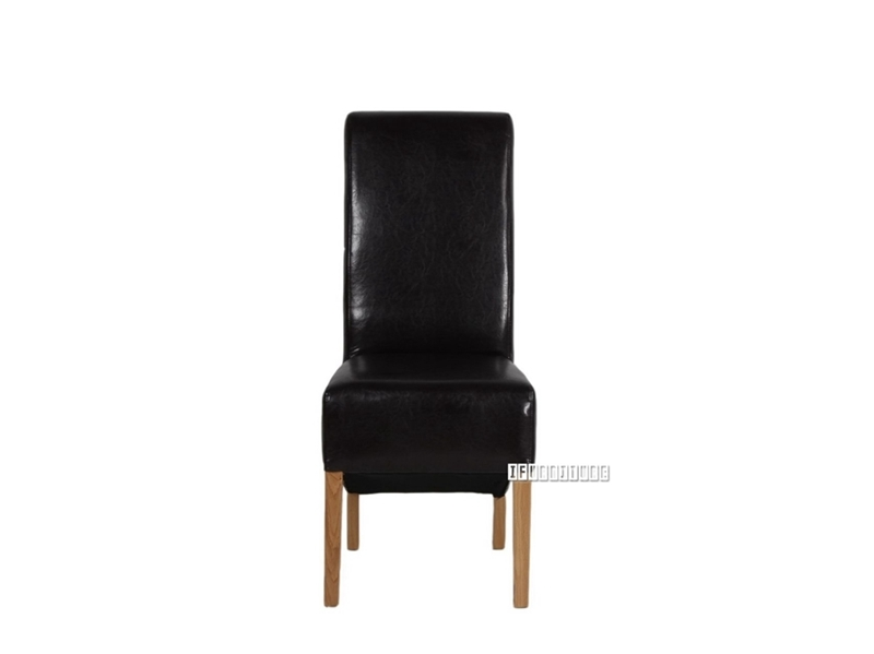 Picture of RIVERLAND Upholstery Dining Chair *Solid Oak