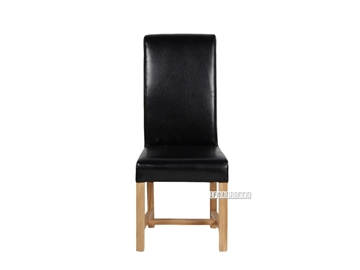 Picture of NEWLAND Upholstery Dining Chair *Solid Oak