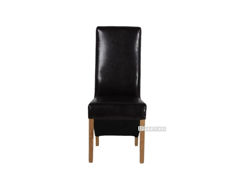 Picture of HELSINKI Upholstery Dining Chair *Solid Oak