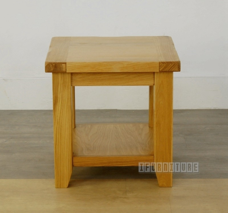Picture of RIVERLAND Solid OAK Side Tables / End Table