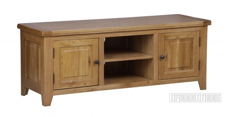 Picture of RIVERLAND Solid OAK TV Unit