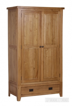 Picture of RIVERLAND Solid OAK 2 Door Wardrobe