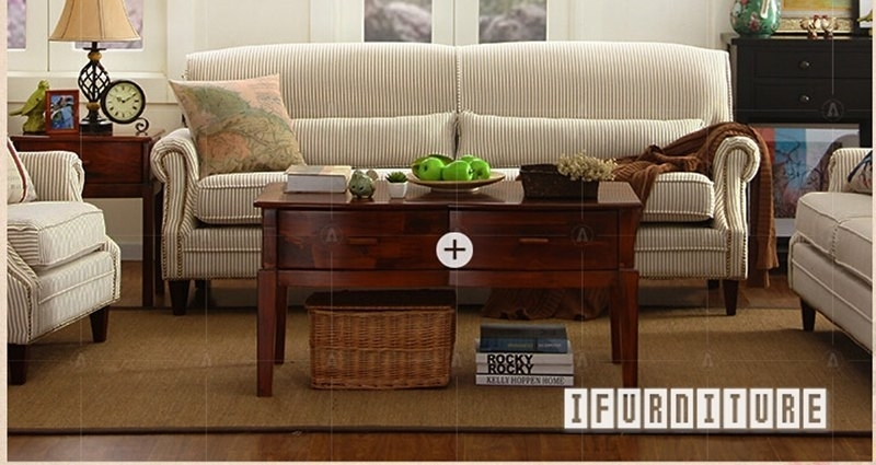Picture of NORAH 1+2+3 Sofa Range in CELERY (narrow pencil strips) Fabric