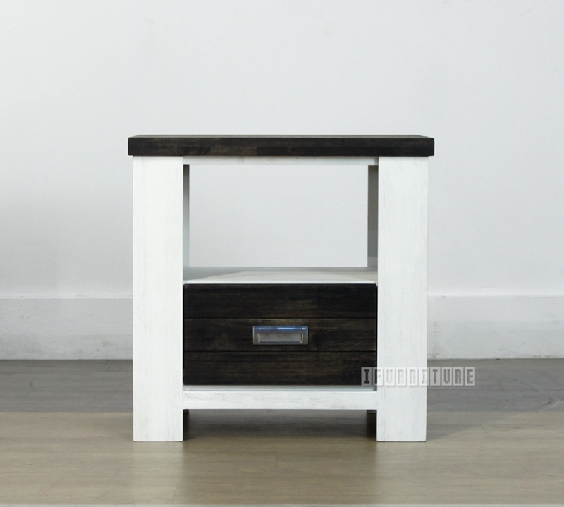 Picture of FREIDA Acacia 1 Drawer End Table