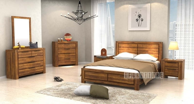 Picture of ASTON Acacia 8 PCS Bedroom Combo in Queen Size