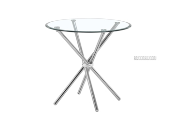 Picture of BRITT Round Glass Dining Table
