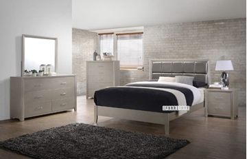 Picture of EUREKA 7 Pcs Queen Size Bedroom Combo