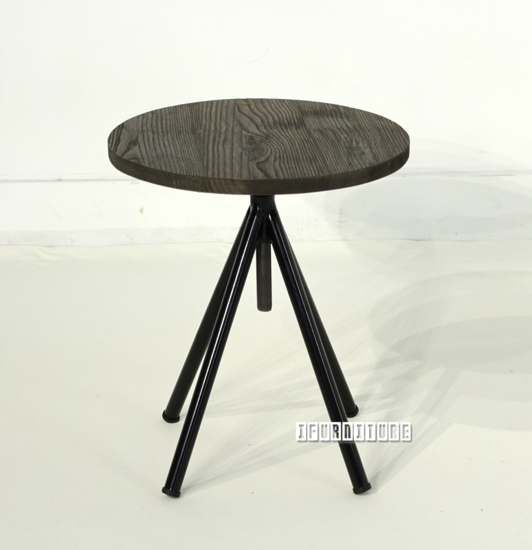 Picture of ELI Adjustable Side Table *Elm Wood
