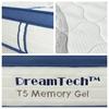 Picture of T5 Memory Gel Pocket Spring Mattress