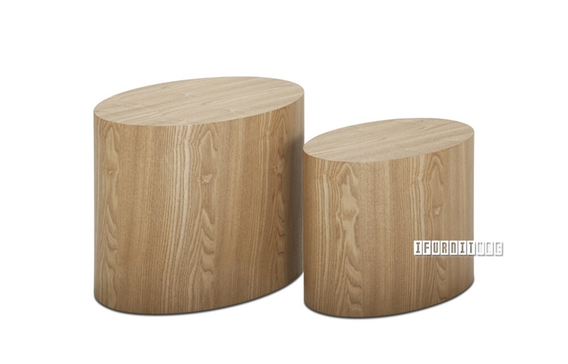 Picture of RAMME Oval Side Table Set