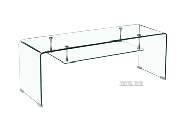 Picture of MURANO Bent Glass TV Unit