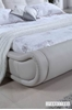 Picture of MODENA Genuine Italian Leather Bed IN QUEEN/KING