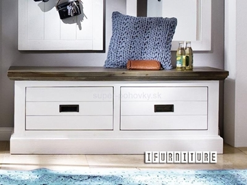 Picture of GOMERA Storage Bench/ Storage Box with 2 Drawers