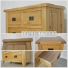 Picture of RIVERLAND Solid OAK 1.3/1.9m Extension Dining Table