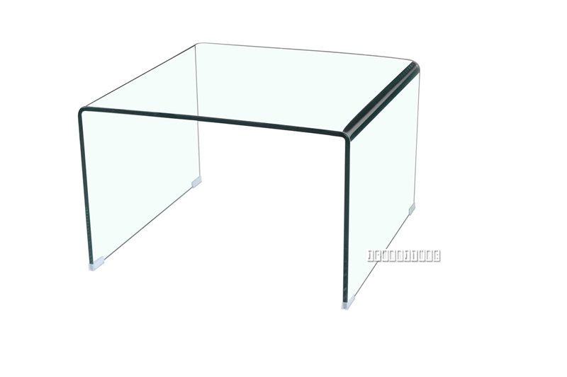 Picture of MURANO Bent Glass Side Table