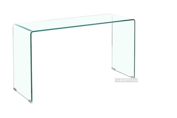 Picture of MURANO Bent Glass Console Table