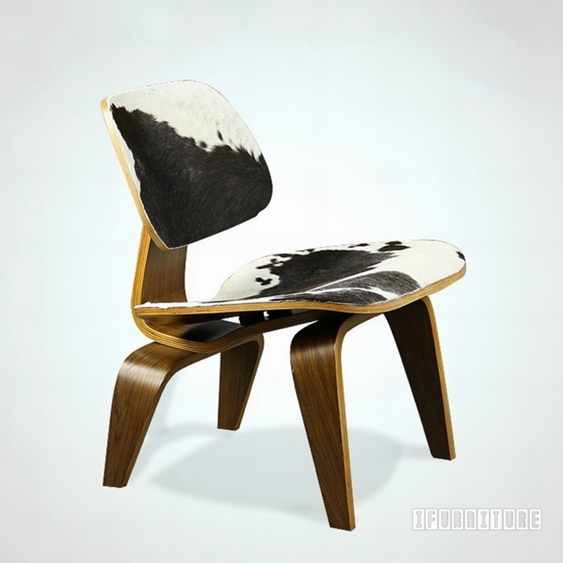 Picture of LA Lounge Chair Wood - LCW Replica *Pony Hide Version