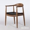 Picture of Hans J Wegner Round Chair Replica