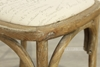 Picture of CROSS BACK Oak Dining Chair *Fabric Seat
