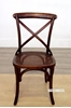 Picture of Cross Back Chair in BROWN Color *Solid Birch