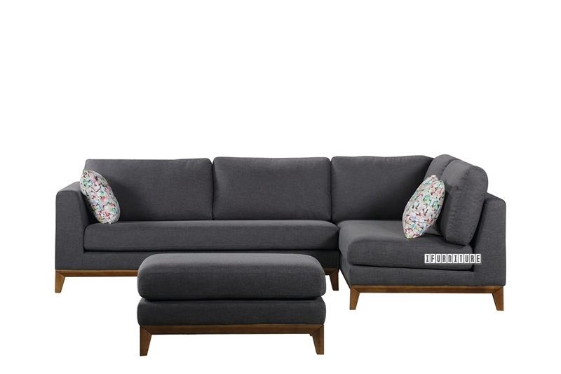 Picture of BERG SECTIONAL Sofa in Dark Grey
