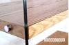 Picture of LENZO Glass Display Shelf in Ash Veneer